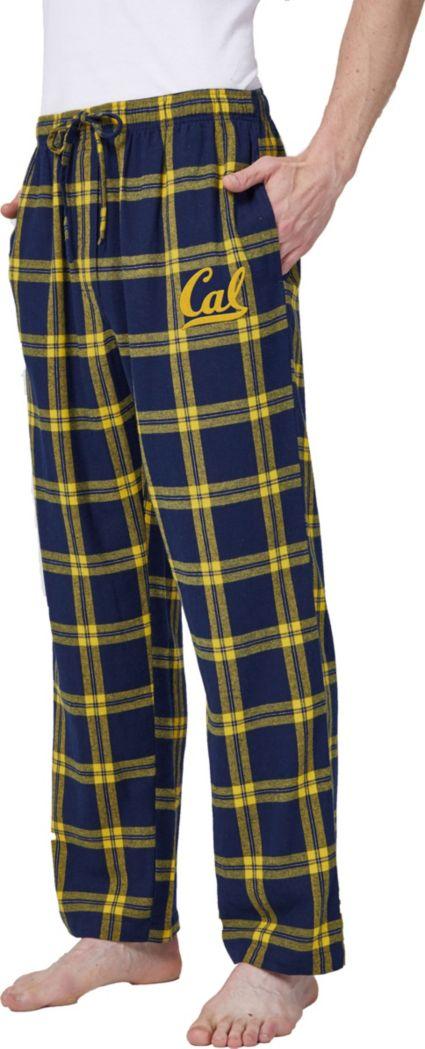 Concepts Sport Men's Cal Golden Bears Blue/Gold Homestretch Sleep Pants