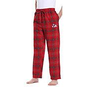 Concepts Sport Men's Fresno State Bulldogs Cardinal/Black Homestretch Sleep Pants