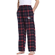 Concepts Sport Men's Gonzaga Bulldogs Blue/Red Homestretch Sleep Pants
