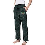 Concepts Sport Men's Ohio Bobcats Black/Green Homestretch Sleep Pants