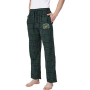 Concepts Sport Men's Ohio Bobcats Black/Green Homestretch Sleep Pants