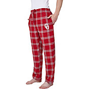 Concepts Sport Men's Oklahoma Sooners Grey/Crimson Homestretch Sleep Pants