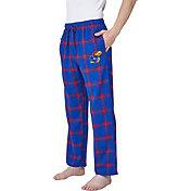 Concepts Sport Men's Kansas Jayhawks Blue/Crimson Homestretch Sleep Pants
