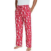 Concepts Sport Men's Oklahoma Sooners Crimson Midfield Sleep Pants
