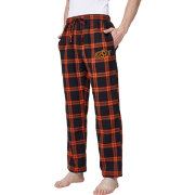 Concepts Sport Men's Oklahoma State Cowboys Black/Orange Homestretch Sleep Pants