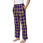 Concepts Sport Men's LSU Tigers Gold/Purple Homestretch Sleep Pants