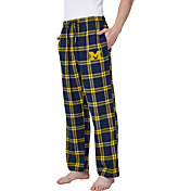 Concepts Sport Men's Michigan Wolverines Blue/Maize Homestretch Sleep Pants
