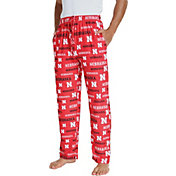 Concepts Sport Men's Nebraska Cornhuskers Scarlet Midfield Sleep Pants