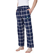 Concepts Sport Men's UNC-Wilmington  Seahawks Navy/White Homestretch Sleep Pants