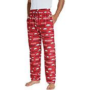 Concepts Sport Men's Arkansas Razorbacks Cardinal Midfield Sleep Pants