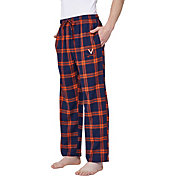 Concepts Sport Men's Virginia Cavaliers Blue/Orange Homestretch Sleep Pants