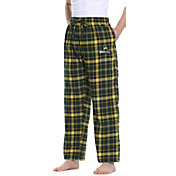 Concepts Sport Men's Wright State Raiders Gold/Green Homestretch Sleep Pants