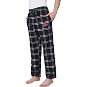 Concepts Sport Men's Washington State Cougars Grey/Black Homestretch Sleep Pants