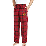 Concepts Sport Men's Iowa State Cyclones Black/Cardinal Homestretch Sleep Pants
