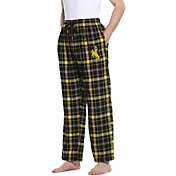 Concepts Sport Men's Wyoming Cowboys Gold/Black Homestretch Sleep Pants