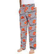 Concepts Sport Men's Cleveland Browns Achieve Grey Fleece Pants