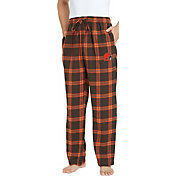 Concepts Sport Men's Cleveland Browns Homestretch Flannel Pants