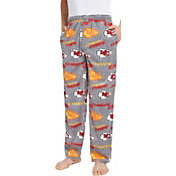 Concepts Sport Men's Kansas City Chiefs Achieve Grey Fleece Pants