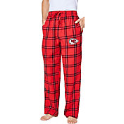 Concepts Sport Men's Kansas City Chiefs Homestretch Flannel Pants