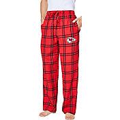 Concepts Sport Men's Kansas City Chiefs Homestretch Flannel Pants