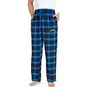 Concepts Sport Men's Los Angeles Chargers Homestretch Flannel Pants
