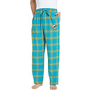 Concepts Sport Men's Miami Dolphins Homestretch Flannel Pants