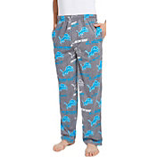 Concepts Sport Men's Detroit Lions Achieve Grey Fleece Pants