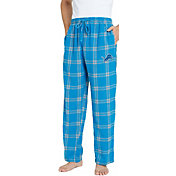 Concepts Sport Men's Detroit Lions Homestretch Flannel Pants