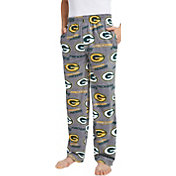 Concepts Sport Men's Green Bay Packers Achieve Grey Fleece Pants