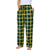 Concepts Sport Men's Green Bay Packers Homestretch Flannel Pants