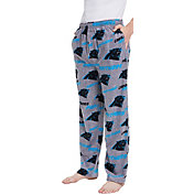 Concepts Sport Men's Carolina Panthers Achieve Grey Fleece Pants