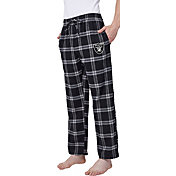 Concepts Sport Men's Oakland Raiders Homestretch Flannel Pants