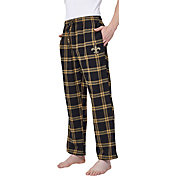 Concepts Sport Men's New Orleans Saints Homestretch Flannel Pants