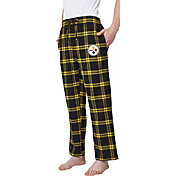 Concepts Sport Men's Pittsburgh Steelers Homestretch Flannel Pants