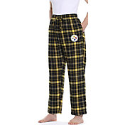 Concepts Sport Men's Pittsburgh Steelers Ultimate Flannel Pants