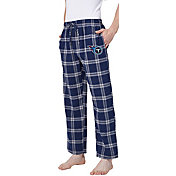 Concepts Sport Men's Tennessee Titans Homestretch Flannel Pants