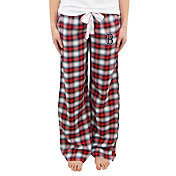 Concepts Sport Women's Boston Red Sox Plaid Flannel Pajama Pants