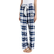 Concepts Sport Women's New York Yankees Plaid Flannel Pajama Pants