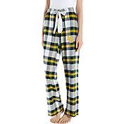 Concepts Sport Women's Baylor Bears Gold/Green Homestretch Sleep Pants