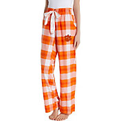 Concepts Sport Women's Clemson Tigers Orange/White Homestretch Sleep Pants