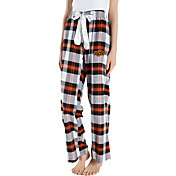 Concepts Sport Women's Oklahoma State Cowboys Black/Orange Homestretch Sleep Pants