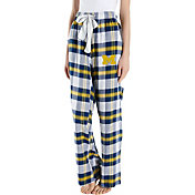 Concepts Sport Women's Michigan Wolverines White/Blue Homestretch Sleep Pants