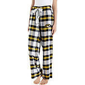 Concepts Sport Women's Missouri Tigers Black/Gold Homestretch Sleep Pants