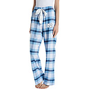 Concepts Sport Women's North Carolina Tar Heels Carolina Blue/Navy Homestretch Sleep Pants