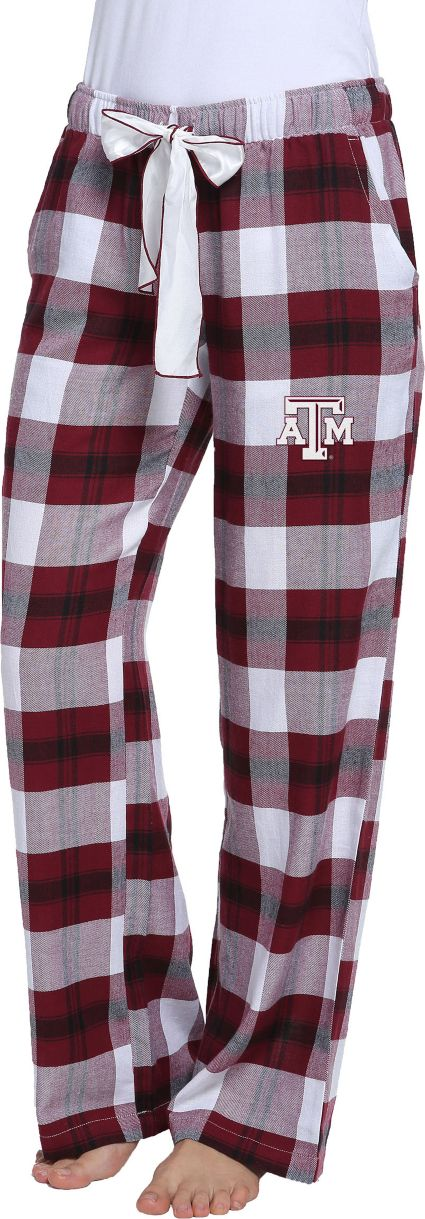 Concepts Sport Women's Texas A&M Aggies Black/Maroon Homestretch Sleep Pants