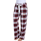 Concepts Sport Women's Virginia Tech Hokies Black/Maroon Homestretch Sleep Pants