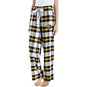Concepts Sport Women's Iowa Hawkeyes Black/Gold Homestretch Sleep Pants