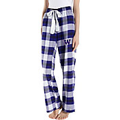 Concepts Sport Women's Washington Huskies Purple/White Homestretch Sleep Pants