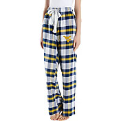 Concepts Sport Women's West Virginia Mountaineers Blue/Gold Homestretch Sleep Pants