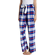 Concepts Sport Women's Buffalo Bills Hideaway Flannel Pants